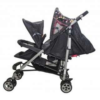 Twin stroller goodbaby