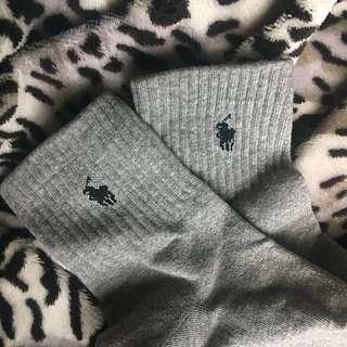 Ralph Lauren socks (inspired)