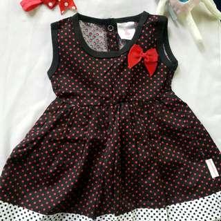 Newborn Girl Dress ( Free Headband) #Baby30