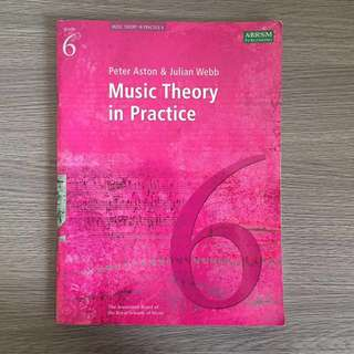 Music Theory (Gr 6) in Practice ABRSM