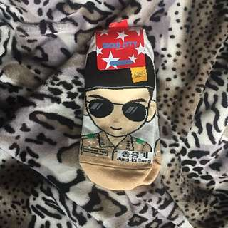 Song Jung Ki socks