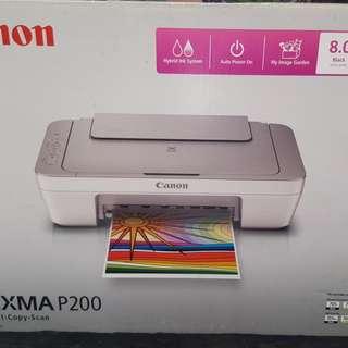 Canon Pixma P200 (Print-Copy-Scan)
