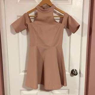 Tobi Blush Pink Dress (Small)