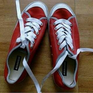 Sepatu Aixaggio Red sz.35 insole 22cm