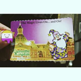 Enchanted Kingdom Tickets with Agila