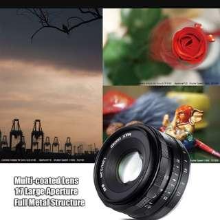 Meike 35mm F1.7 Lens for Sony E-Mount