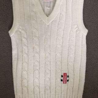Cricket Gray Nicolls Wool Vest Small