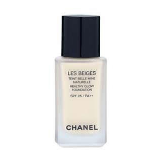 Chanel Les Beiges Healthy Glow Foundation SPF25 / PA++ 1oz, 30ml Color: N10