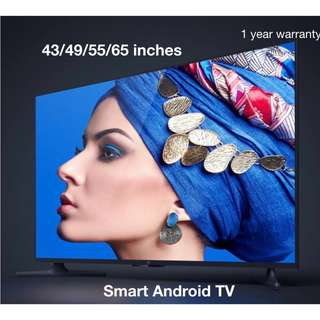 Brand New Xiaomi TV 4A Smart android 4k TV 32inches 43inches 49inches 55inches 65 inches