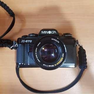 NEAR MINT MINOLTA X-570 Film Camera