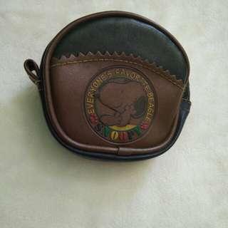 Vintage Snoopy coin purse