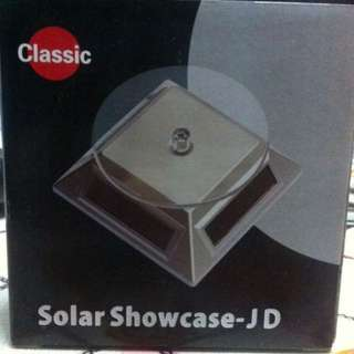 Solar Display/ Showcase 360 degree turned Stand