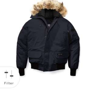 Authentic Canada Goose Chilliwack bomber Large