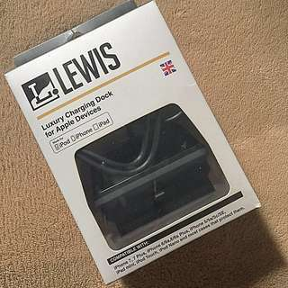 LEWIS luxury charging dock for Apple device