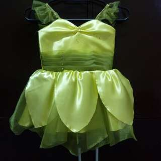 Tinkerbel inspired gown (Free Shipping)