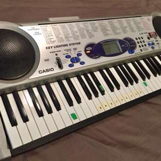 Casio electric keyboard piano