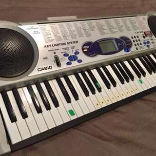 Casio electric keyboard piano