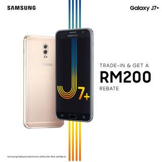 SAMSUNG J7 + TRADE IN PROMOTION
