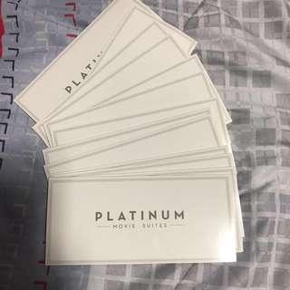 Cathay platinum movie tickets