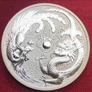 龍鳯銀幣 結婚送禮 首選