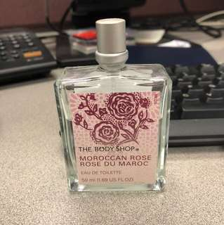 Body shop Moroccan Rose EDT