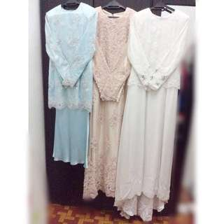 3 SET WEDDING DRESS