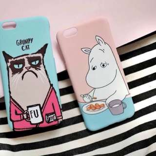 Grumphy & moomin case