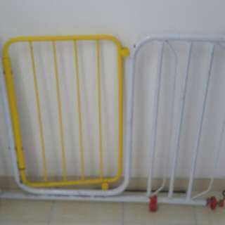 Safety gate for babies.