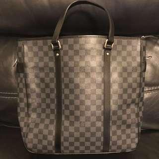 LV Graphite Office Bag