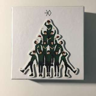 EXO-K Miracles in December Album w/ Photocard