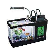 (全新) USB DESKTOP AQUARIUM 座枱水族館/魚缸 (mini fish tank with running water)