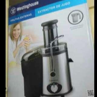 Westinghouse Vegetable/ Fruits Juicer