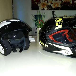 Helmet (Zeus and LS2)