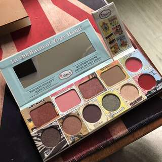 The Balm- In the Balm of your hand palette 眼影唇彩set