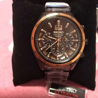 BRAND NEW SEIKO LIMITED EDITION MUST SELL!!