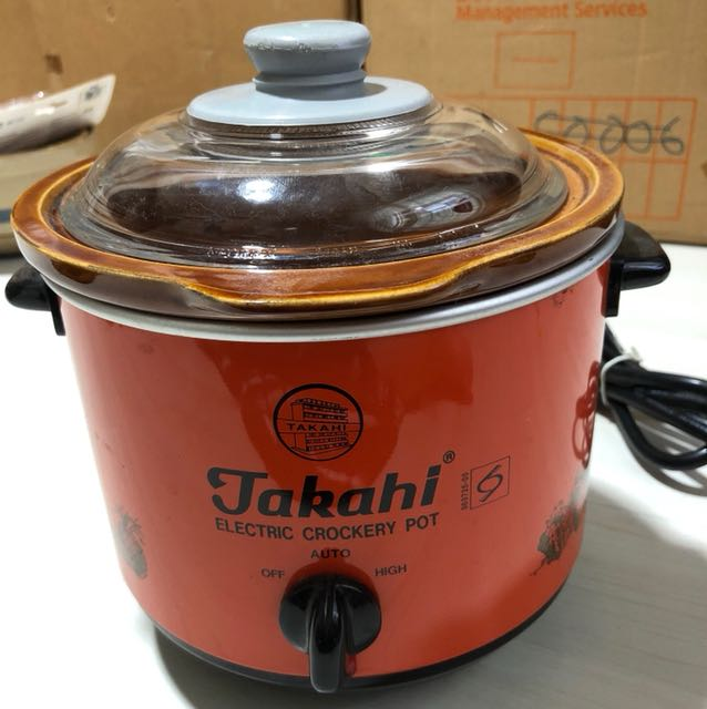 1.2L Takahi Made in Japan Slow Cooker or Electric Crockery Pot, Home Appliances on