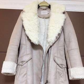 ❤️淡粉紅大褸外套,原價過$2700🤤🙏🏻🌈❤️pink parka jacket