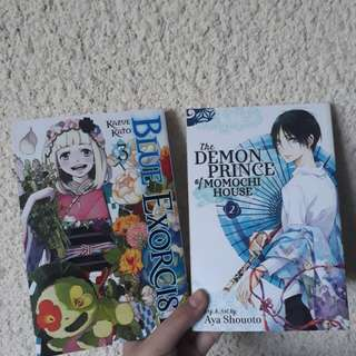 Blue Exorcist 3 and The Demon Prince of Momochi House 2