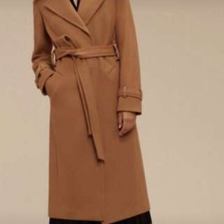 New babaton wool coat