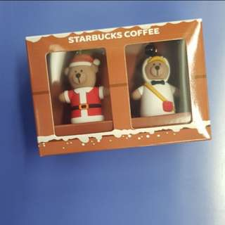 Starbucks bearista keychain brand new for xmas