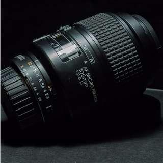 Nikon AF Micro-Nikkor 105mm f/2.8D (Macro Lens for Nikon)