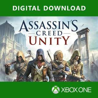 Assassins Creed Unity Xbox One Digital Download