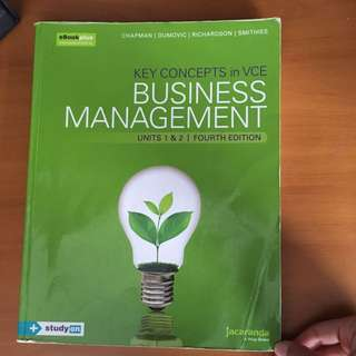Business management units 1&2