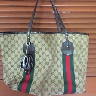 Authentic frm GUCCI Pavilion Used Condition Tote Bag