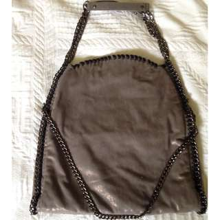 Stella McCartney Falabella Replica in Gunmetal
