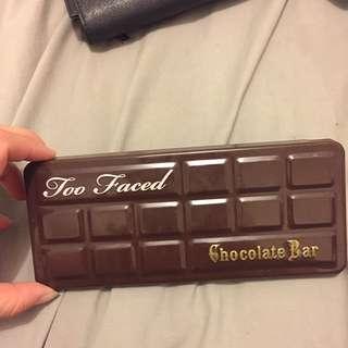*AUTH* Chocolate bar, too faced