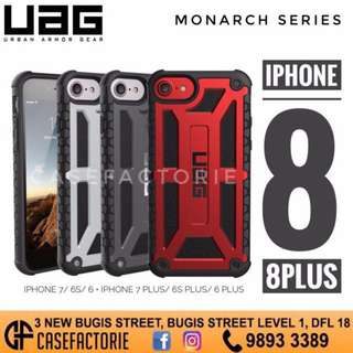 UAG MONARCH SERIES IPHONE 8 & IPHONE 8 PLUS CASE CASING COVER (Authentic) (Self-Collect) (Postage)