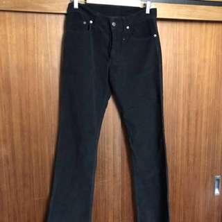 """KSUBI Black Corduroy Jeans 30"""""""
