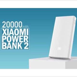 XiaoMi Gen 2 20000mAH Powerbank/Portable Charger