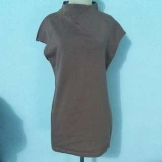 Atasan / dress Coklat Adem